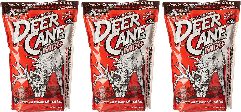 Evolved Habitats Deer Cane Mix Mineral  Attractant 6.5 Lb Bag.