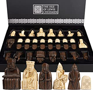 The Regency Chess Isle of Lewis Official Chess Set