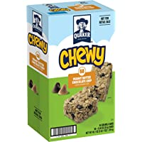 58-Count Quaker Chewy Peanut Butter Chocolate Chip Granola Bars