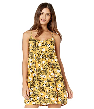 Roxy Tropical Sundance Dress (Honey Gold/Honey) Women