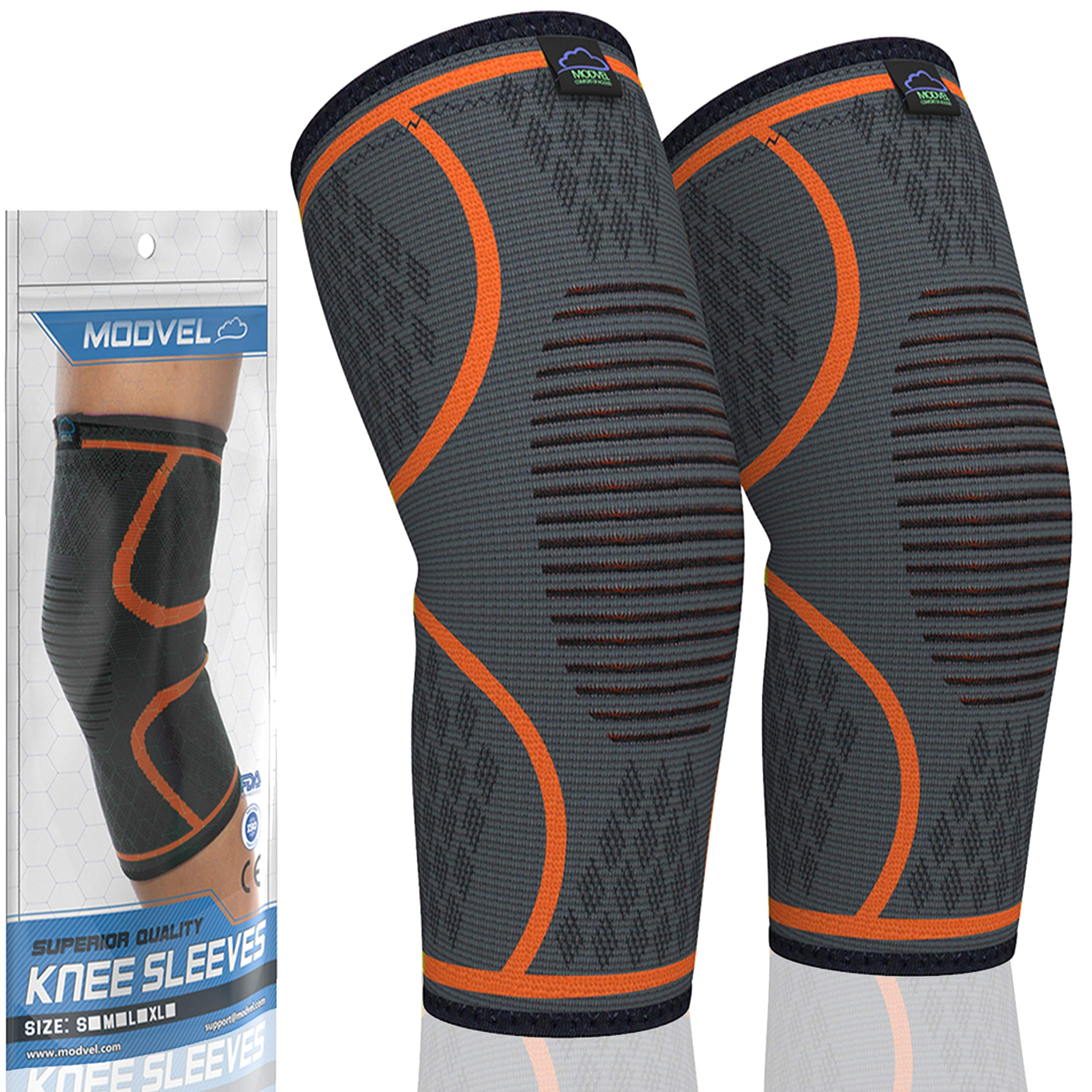 Modvel Compression Knee Sleeve Pair