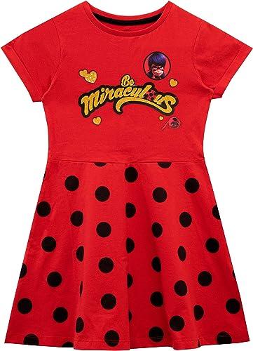 Miraculous Robe Ladybug Fille