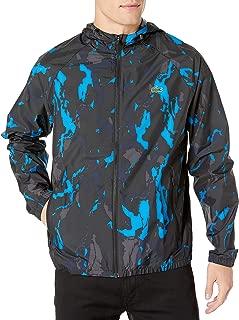 Mens Sport Long Sleeve Novak Printed Windbreaker Jacket
