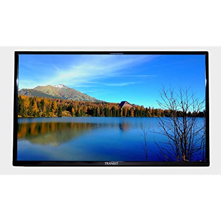 "Free Signal TV Transit 28"" 12 Volt DC Powered LED Flat Screen HDTV with Integrated DVD Player for RV Camper and Mobile Use"