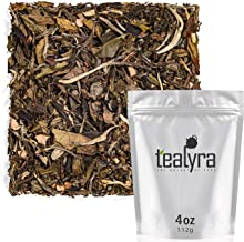 Tealyra - Peach White Peony - White Loose Leaf Tea - High Antioxidants - Low Caffeine - All Natural - 112g (4-ounce)