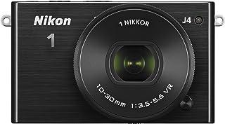 Nikon 1 J4 Systemkamera (18 Megapixel, 7,5 cm (3 Zoll) LCD Display, Full HD Videofunktion) Kit inkl. 10 30mm PD Zoom Objektiv schwarz
