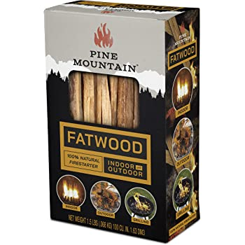 Better Wood Products Fatwood Firestarter Box 1.5-Pounds