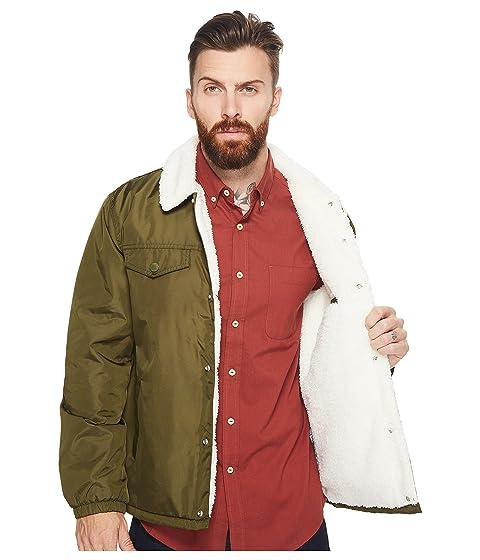 Jacket Sherpa Green Mens Trucker Coach Levi's® Forager 5fw8IqI