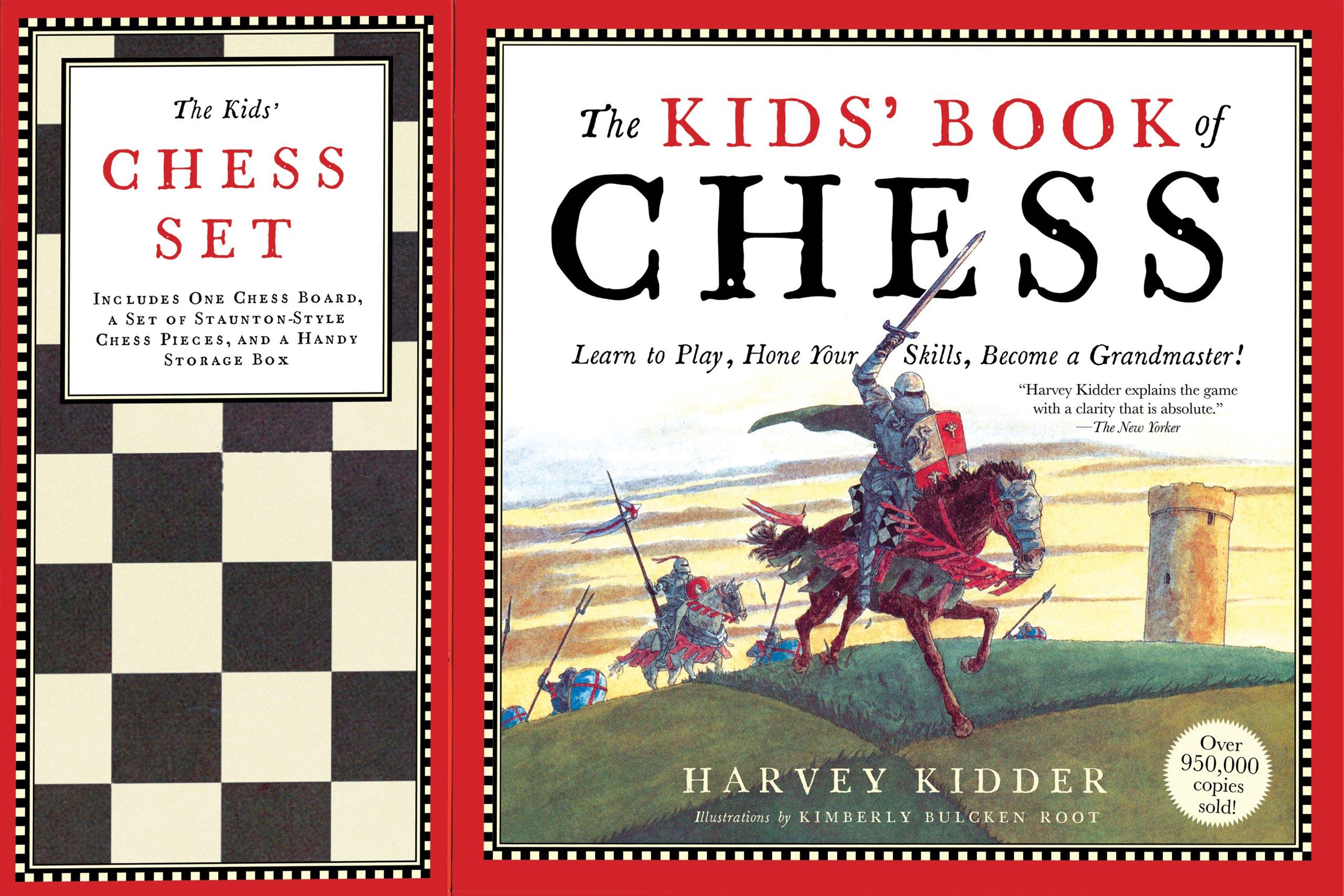 Kids Book Chess Set