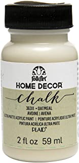 FolkArt 36311 Home Decor Chalk Furniture & Craft Paint in Assorted Colors, 2 ounce, Oatmeal