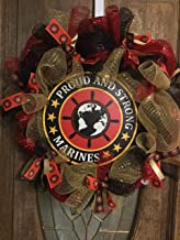 US Marines Wreath, Marines, Military Wreath