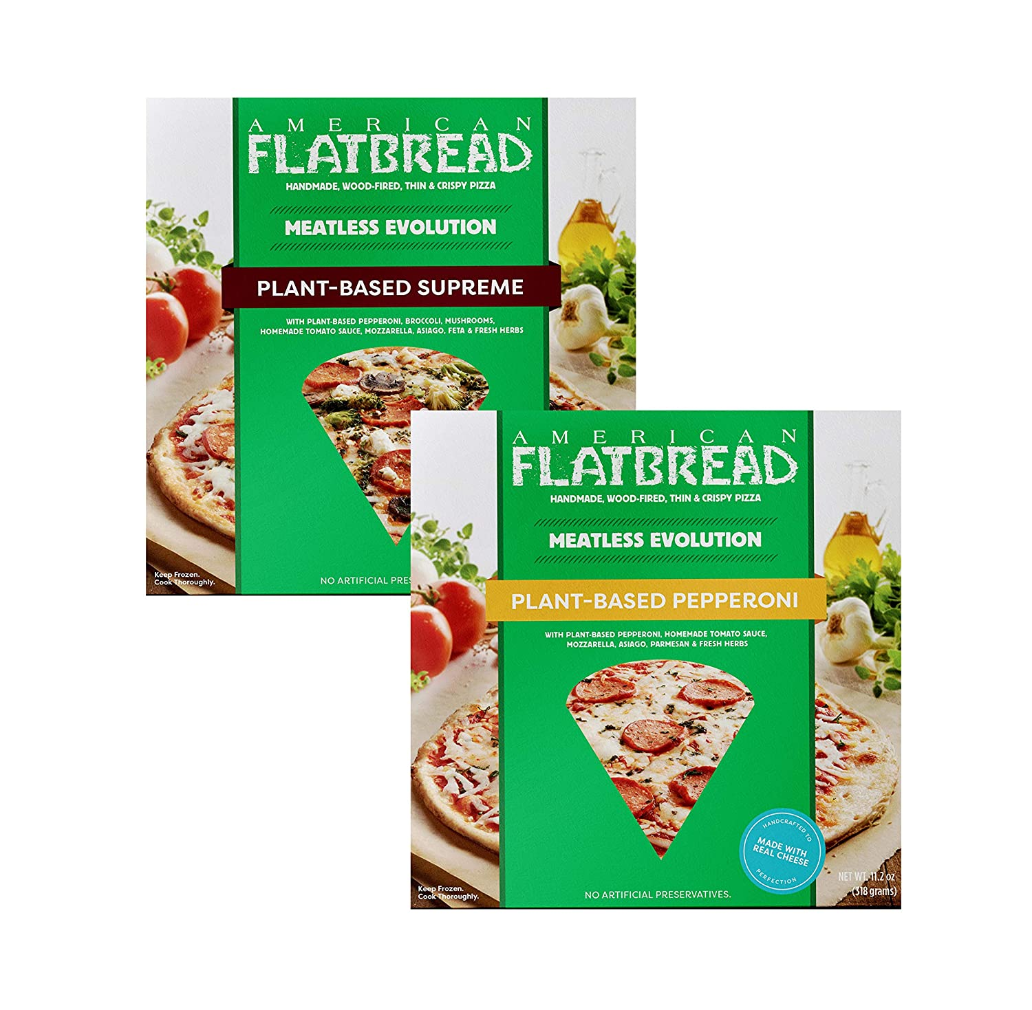 American Flatbread Plant-Based trend rank Meatless Pizza of Pack Mix OFFicial shop