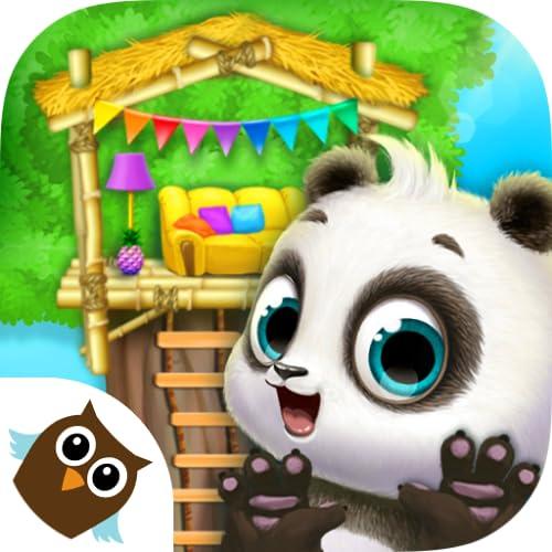 Panda Lu Treehouse - Cute Pet Care & Building Fun for Kids