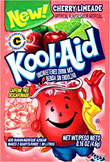Sponsored Ad - Kool-Aid Cherry Limeade Flavored Unsweetened Caffeine Free Powdered Drink Mix (192 Packets)