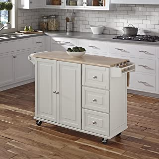 rolling kitchen island with chairs