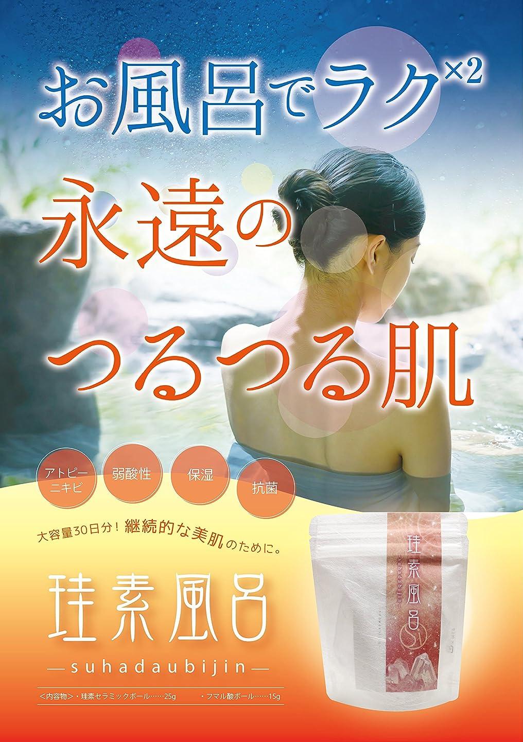 フィルタ夢アテンダント珪素風呂-suhadabijin-