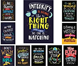 Bright Colors Style Motivational Classroom Posters (13