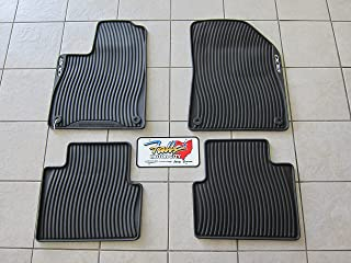 Chrysler 200 All Weather Black Rubber Slush Floor Mat Set Mopar OEM