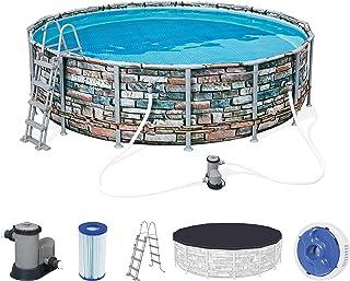 Bestway Pool Set Power Steel Graph 488X122Cm