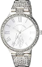 U.S. Polo Assn. Women's Analog-Quartz Watch with Alloy Strap, Silver, 14 (Model: USC40322)