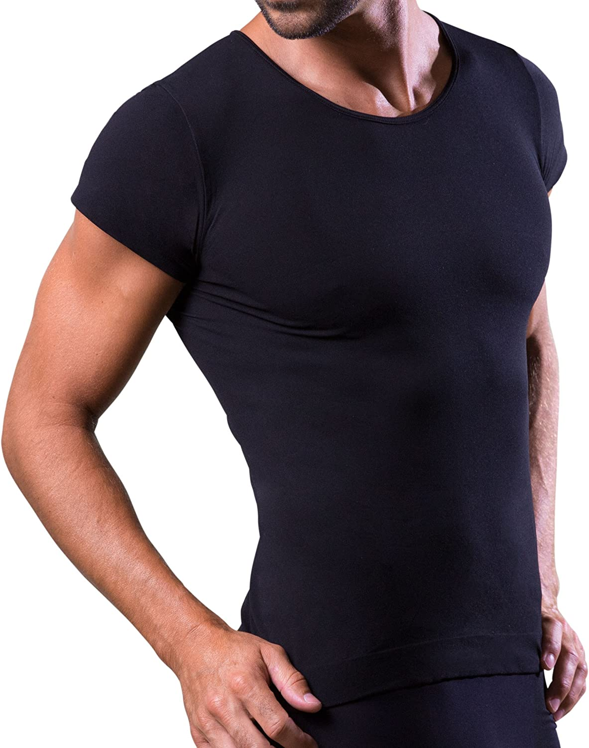 Dr.WALT - Men's Undershirt Vest Produced with Technical Sports Yarns for Everyday use, Thermal, Ultralight and Bacteriostatic