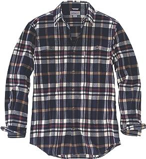 Men's Hubbard Classic Plaid Shirt - Navy - XX-Large