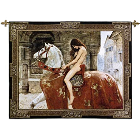 ready to hang Lady Godiva by John Collier Quality canvas wall art