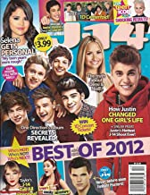 One Direction, Justin Bieber, Austin Mahone, Selena Gomez, FREE 1D GLOSSY CENTERFOLD POSTER, Best and Worst of 2012 - December, 2012 J-14 Magazine