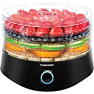 Chefman 5 Round Dehydrator... Chefman 5 Round Dehydrator Professional Electric Multi-Tier Food Preserver, Meat or Beef Jerky...