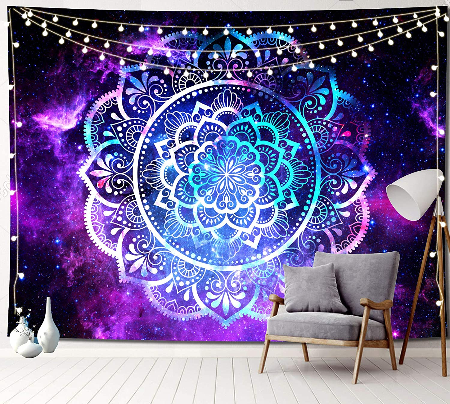 Sosolong Mandala Tapestry Aesthetic Galaxy Max 72% OFF Surprise price Tape