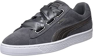 PUMA Women's Suede Heart Lunalux WN's Trainers, Grey, One Size Fits All