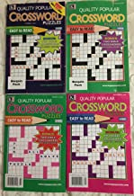 Lot of 4 Quality Popular Bonus Bible Crosswords Crossword Puzzles Books 2018 2019