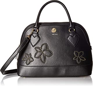 Anne Klein Stud Applique Satchel