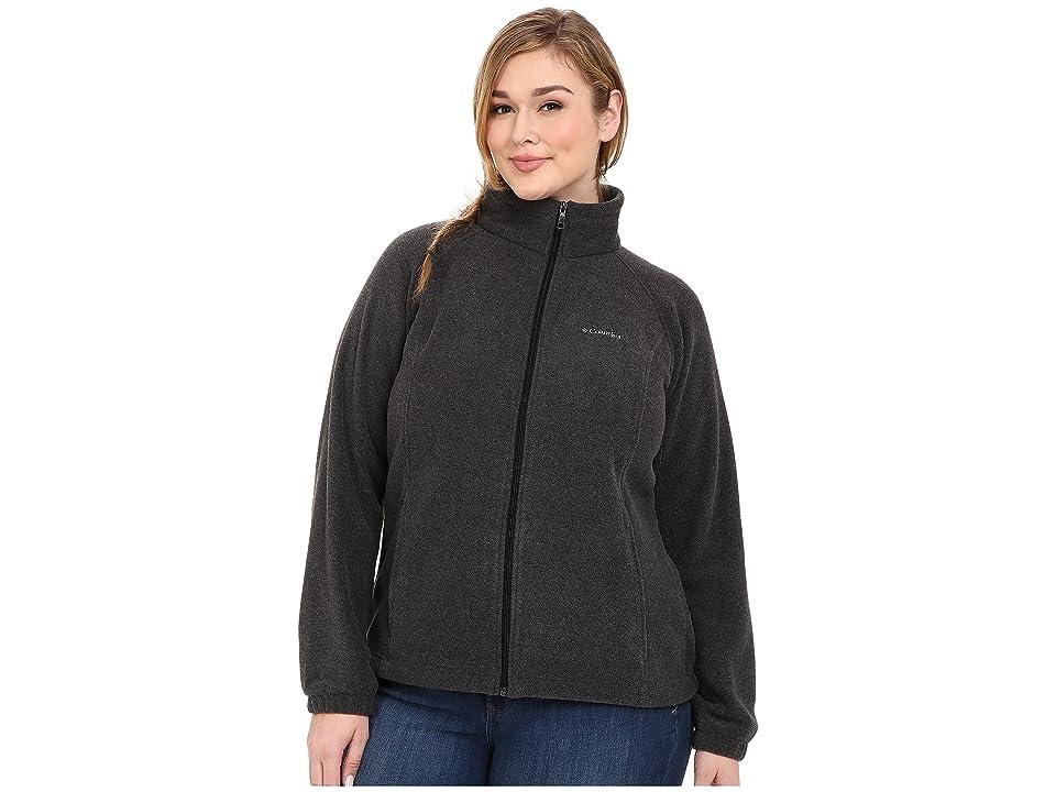 Columbia Plus Size Benton Springstm Full Zip (Charcoal) Women