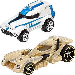 Hot Wheels Star Wars Character Car 2-Pack, 501st Clone Trooper vs. Battle Droid