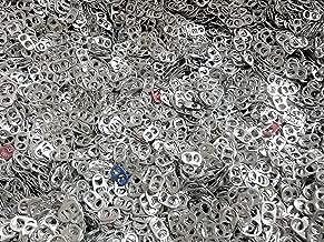 1000 Aluminum Silver Color Pop Soda Beer Tabs (1000 Tabs)