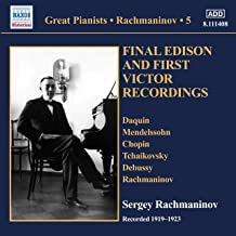 Final Edison & First Victor Recordings