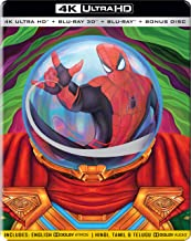 Spider-Man: Far from Home (Steelbook) (4K UHD + Blu-ray 3D + Blu-ray + Bonus Disc) (4-Disc Box Set)