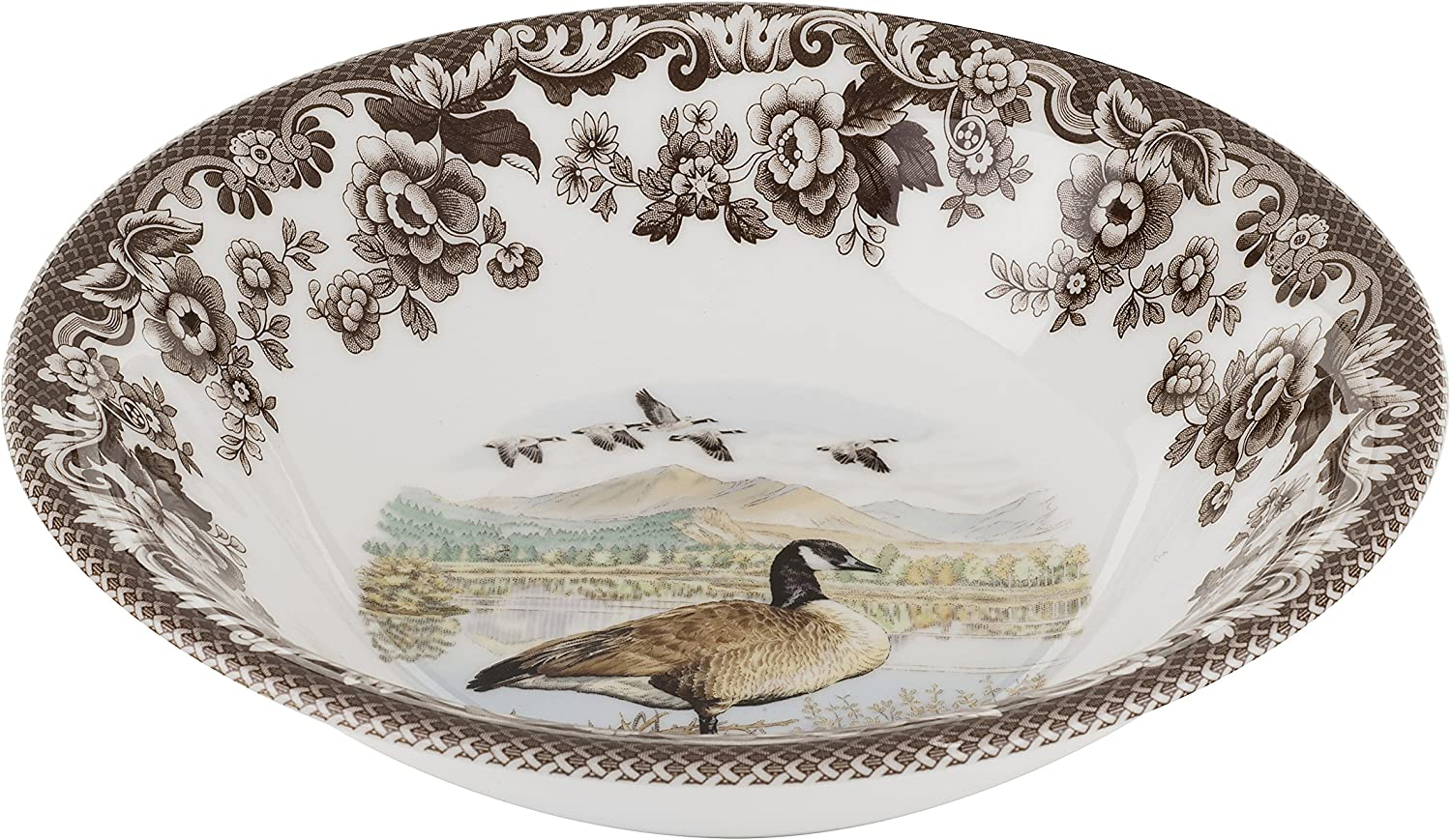 Recommendation Spode Woodland Canadian Goose Cereal Ascot Cheap super special price Bowl