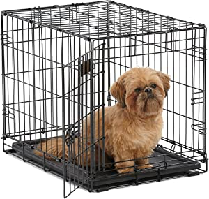Fully Equipped MidWest Homes Dog Crate