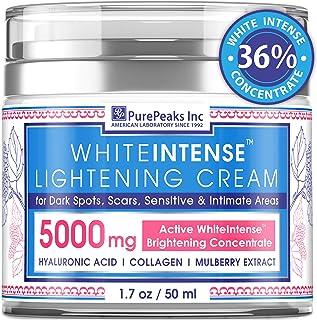 Lightening Cream for Face and Sensitive Skin – Made in USA – Skin Whitening..