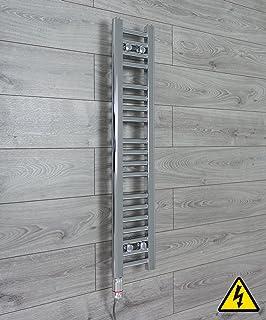 700mm Wide bagno riscaldato Portasciugamani Radiatore cromo dritto bagno curvo