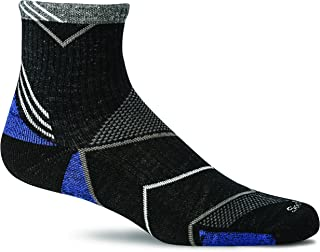 Sockwell Men's Incline Quarter Moderate Compression Sock