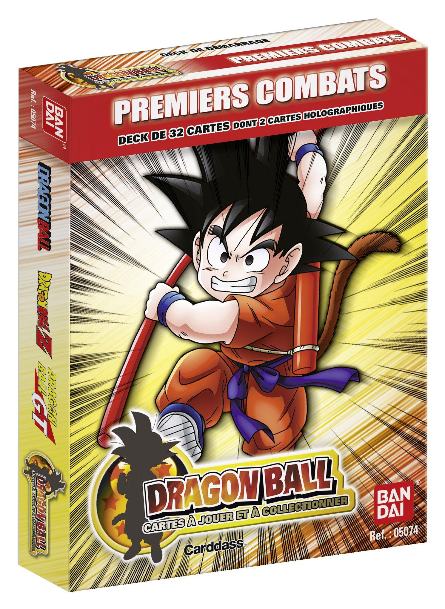 BANDAI - Juego de Cartas de Dragon Ball (Contenido en francés): Amazon.es: Juguetes y juegos