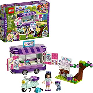 LEGO Friends Emma's Art Stand 41332 Building Set (210 Pieces)