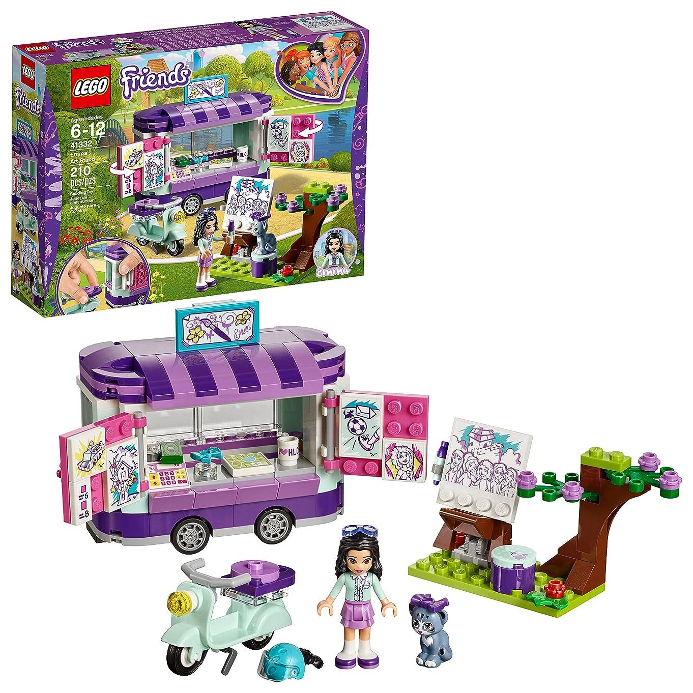LEGO Friends Emma's Art Stand 41332 Building Set (210 Piece)