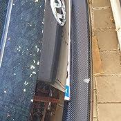 BLACKSHELL Ladekantenschutz inkl Premium Rakel f/ür Caddy 4 ab 2015 Matt Schwarz passgenaue Lackschutzfolie Sto/ßstangenschutz Steinschlagschutz Auto Schutzfolie
