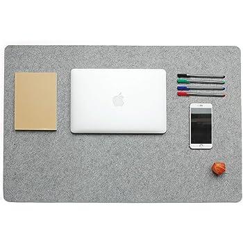 Schreibunterlage Schreibtisch Computertisch Maus Unterlage Felt Filz 65 x 34 cm
