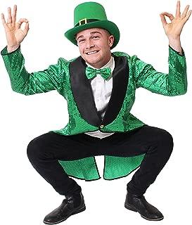 Kobold Kostüm Set Zwergen Kostümzubehör Kleeblatt Mütze Irland Faschingshüte