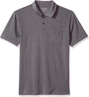 Men's Slim-Fit Pocket Jersey Polo